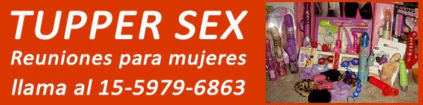 Banner Sex shop en Moron